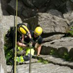 Ausbildung zum Höhenretter am Steilhang