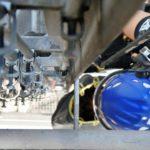 Industriekletterer In PSA bei Montage