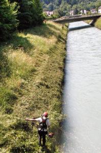 PSAgA am Fluss