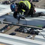 Vorbereiten für die Dachluke